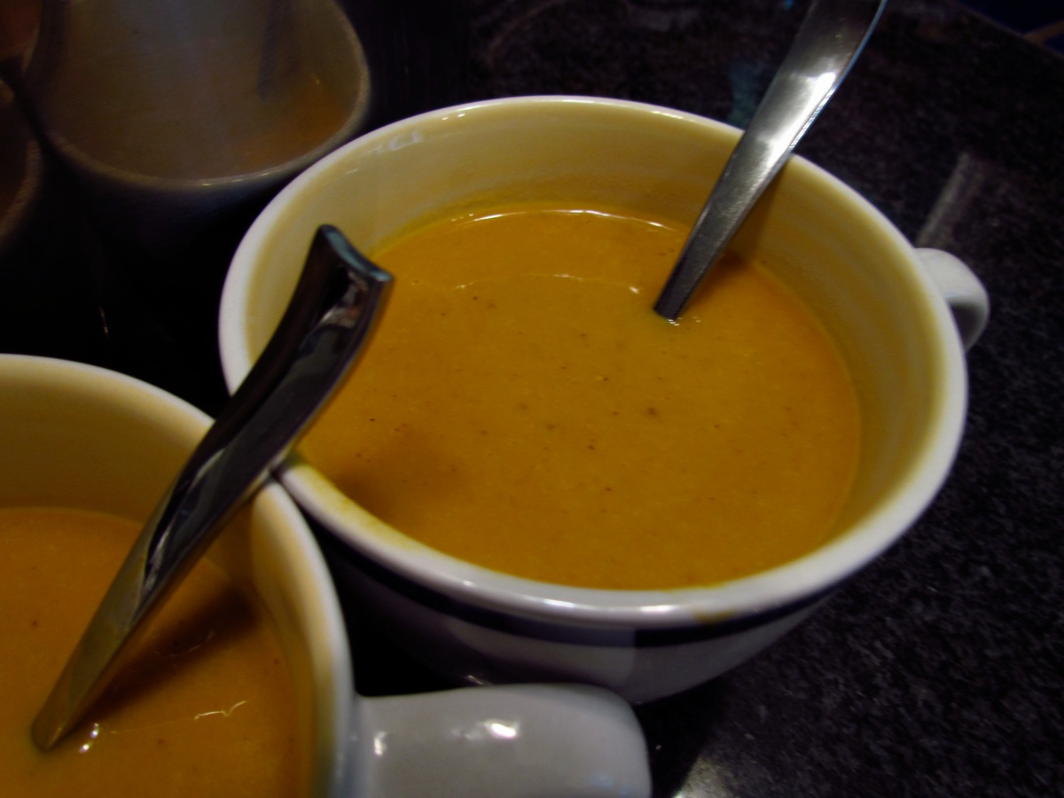 winter is coming carrot ginger soup