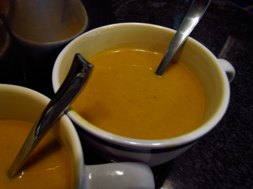 winter is coming carrot gingersoup
